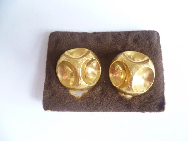 quinn ohrclips gold